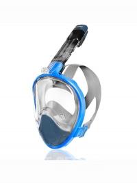 HAMPI Celoobličejová potápěčská maska modrá