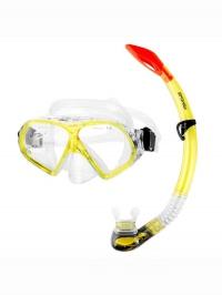 FLONA Sada pro potápění maska+šnorchl