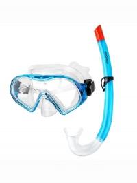 RISKO Sada pro potápění maska+šnorchl