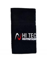Ručník černý s logem Hitec nutrition 100x50cm