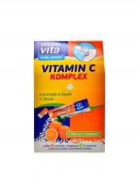 Maxivita vitamín C acerola+zinek+šípek 16x32g