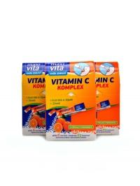 Maxivita vitamín C acerola+zinek+šípek 48x32g