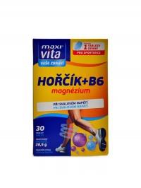 Maxivita hořčík + B6 30 tablet blistr