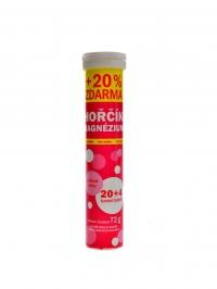 Hořčík bez cukru 24 šumivých tablet