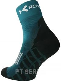 Sportovní ponožky high cut zelené