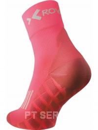 Sportovní ponožky high cut lososové