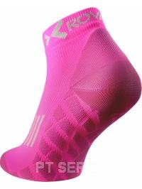 Sportovní ponožky low cut růžové neon