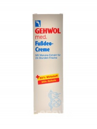 med fussdeo creme 75 ml