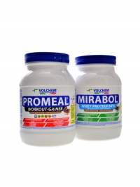 Promeal workout 1,4kg + Mirabol 94% 750g
