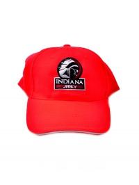 čepice kšiltovka Indiana Jerky červená