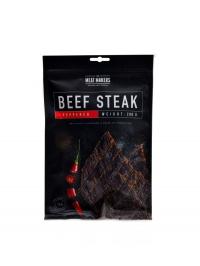 Beef steak sušené maso 200g peppered