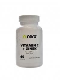 Vitamín C + zinek 60 kapslí