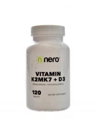 Vitamin K2MK7 + D3 120 kapslí