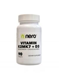 Vitamin K2MK7 + D3 90 kapslí