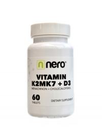 Vitamin K2MK7 + D3 60 kapslí