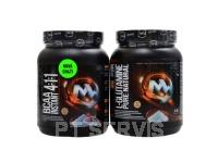 BCAA 4:1:1 instant 500 g + Glutamin 300g