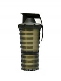 Grenade shaker 600 + 300 ml zelený