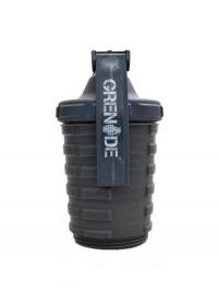 Grenade shaker 600 + 300 ml šedý