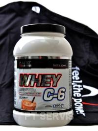 Whey C6 CFM 100% whey 1000 g + triko