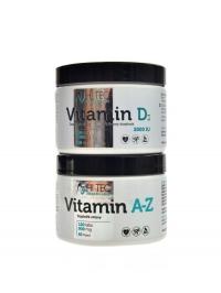HL Vitamin A-Z 120 cps + vitamín D3 90 cps