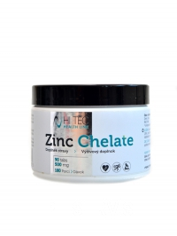Health Line Zinek Zinc chelate 500 mg 90 tbl
