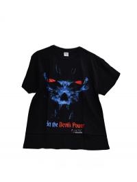 tričko Black devil pánské černé