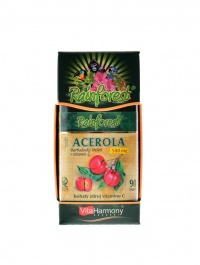 Acerola + Vitamín C 90 tablet