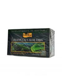 Čaj Zelený s aloe vera