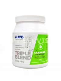ALAVIS TRIPLE BLEND Extra zelený CBD 700g