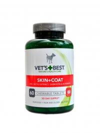 Žvýkací tablety na srst a kůži pro psy 60 tbl