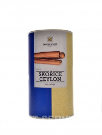 Skořice mletá druh Cejlon BIO 450 g