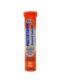 Vitatab multivitamín 20 šumivých tablet