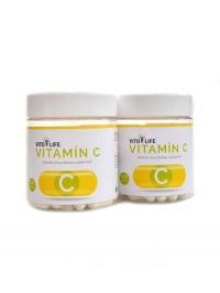 Vitamín C 100 + 100 kapslí