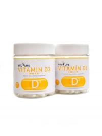 Vitamín D3 100 + 100 kapslí