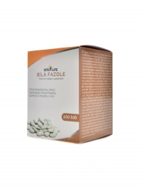 Bílá fazole extrakt Phaseolin 2% 400mg 100cps