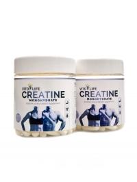 Creatine monohydrate 100 + 100 kapslí