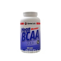 Mega BCAA 2-1-1 2100 mg amino 100 tablet