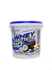 CFM whey protein 80 3kg mix 3 x 1000g