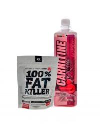 L-Carnitine 100000 1,2l + Fat killer 120 cps