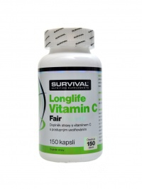Longlife vitamín C fair power 150 kapslí