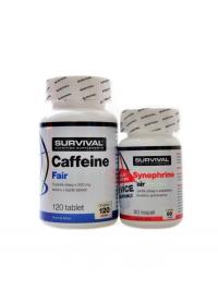 Caffeine fair 120 tbl + Synephrine 90 tb