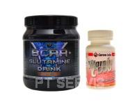 BCAA + Glutamine drink 300 g + vit.C 500 100c