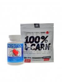 Inositol 100 kapslí + BS Carn 60 cps