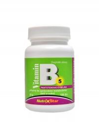 Pantothenová kyselina vitamin B5 100 tablet
