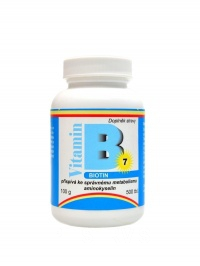 Biotin (vit. B7) 500 tbl.