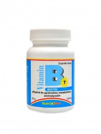Biotin (vit. B7) 100 tbl.