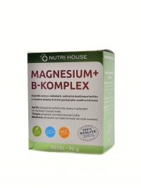 MAGNESIUM + B-KOMPLEX, 90 tablet