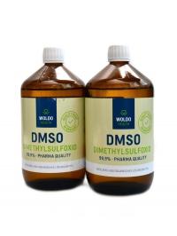 DMSO dimethylsulfoxid 99,9% 2 x 1000ml
