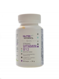 Strong Vitamin B12 90 kapslí