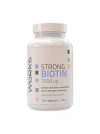 Strong Biotin 5500mcg 120 kapslí